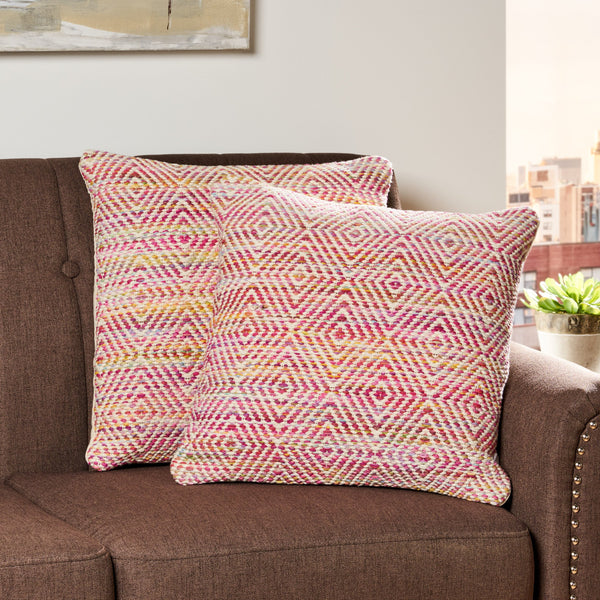 Boho Cotton and Wool Throw Pillow (Set of 2) - NH236013