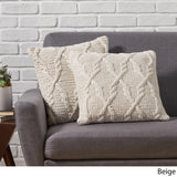 Boho Cotton Throw Pillow (Set of 2) - NH446013