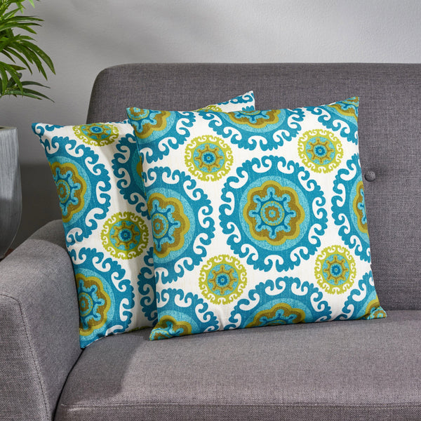 Modern Throw Pillow Cover (Set of 2) - NH835013