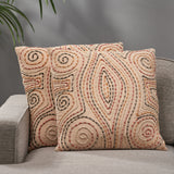 Cotton Throw Pillow (Set of 2) - NH401113