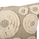 Boho Cotton Throw Pillow - NH452113
