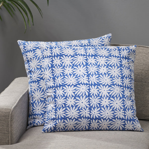 Modern Fabric Throw Pillow Cover (Set of 2) - NH179013
