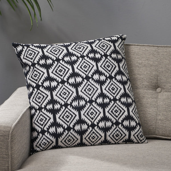 Modern Fabric Throw Pillow - NH889013