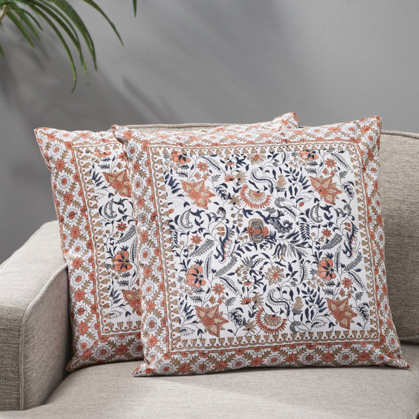 Modern Fabric Throw Pillow Cover (Set of 2) - NH199013