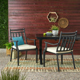 Outdoor Dining Chair with Cushion (Set of 2) - NH705113