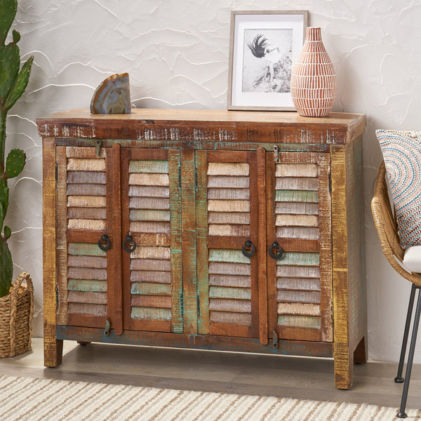 Recycled Wood Cabinet - NH423113