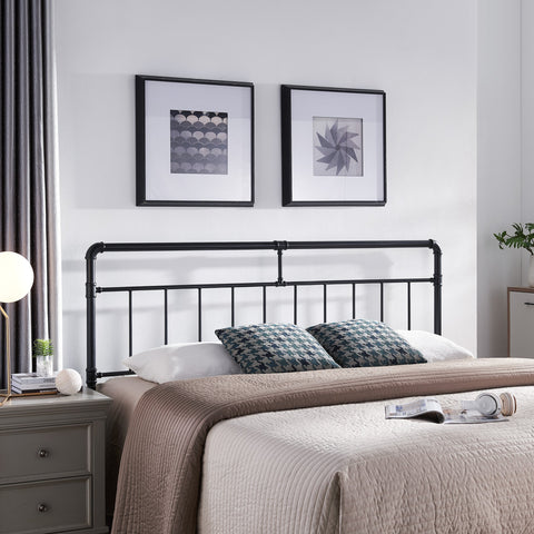 Contemporary Iron Headboard - NH515113