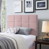 Contemporary Upholstered Twin Headboard - NH831113