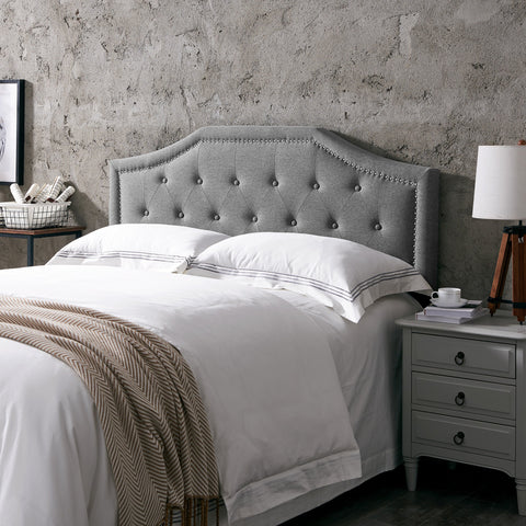 Contemporary Upholstered Queen/Full Headboard - NH494113