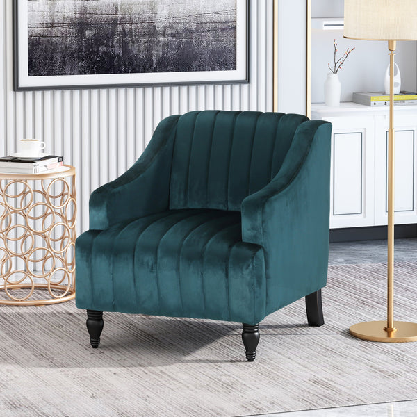 Glam Velvet Club Chair - NH647013