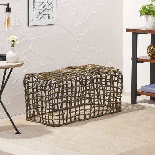 Contemporary Aluminum Bench - NH540113