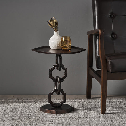 Modern Aluminum Accent Table - NH740113