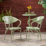 Outdoor Modern Dining Chair (Set of 2) - NH063113