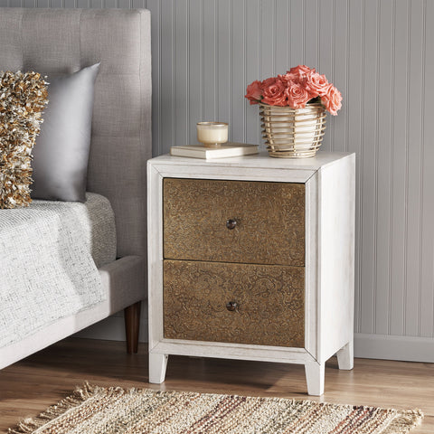 Traditional Bedside Table - NH737113