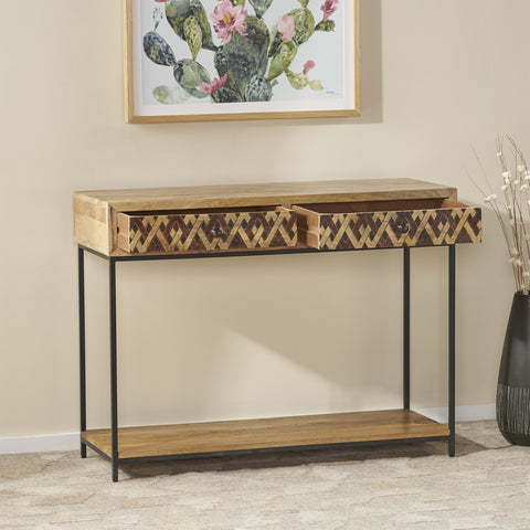 Boho Console Table - NH328113