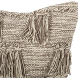 Hand-Loomed Boho Pillow Cover - NH425213