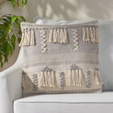 Hand-Loomed Boho Pillow Cover - NH845213