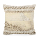 Hand Loomed Boho Pillow Cover - NH785213