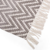 Boho Fabric Throw Blanket - NH416213