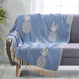 Boho Cotton Throw Blanket - NH483213