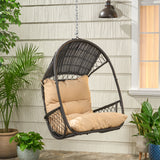 Wicker Hanging Chair with Cushion (Stand Not Included) - NH758113
