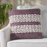 Hand Loomed Boho Pillow Cover - NH366213