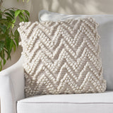 Hand Loomed Boho Pillow Cover - NH576213
