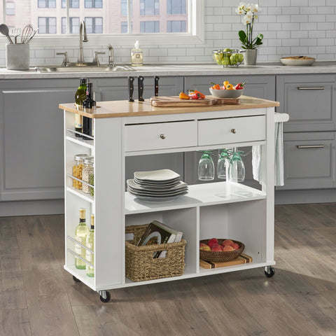 Kitchen Cart with Wheels - NH169113