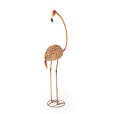 Outdoor Flamingo Garden Art Decor (Set of 2) - NH677213