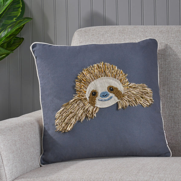Sloth Pillow Cover - NH404213
