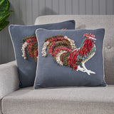 Rooster Throw Pillow - NH834213