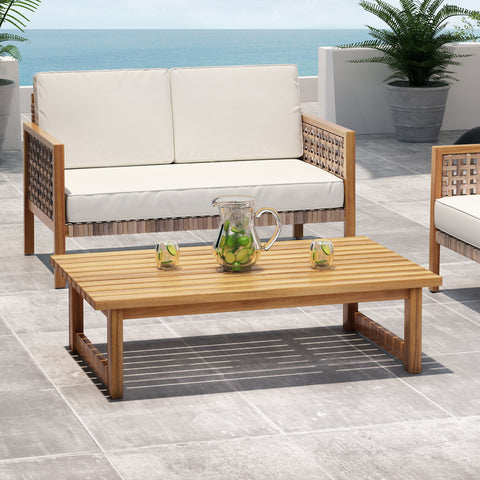 Outdoor Acacia Wood Coffee Table - NH769213