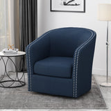 Contemporary Fabric Swivel Chair - NH742213