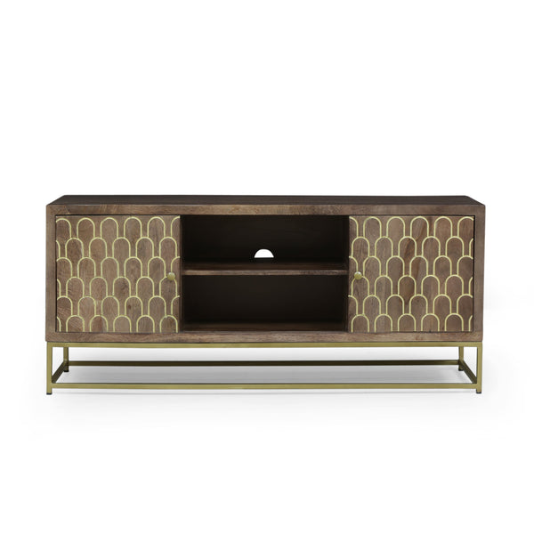 Contemporary Wooden TV Stand - NH227213