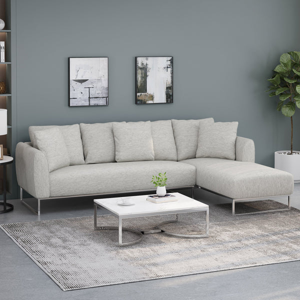 Contemporary Sectional Sofa with Chaise Lounge - NH571313