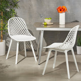 Outdoor Modern Dining Chair (Set of 2) - NH674213