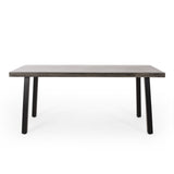 Outdoor Modern Industrial Aluminum Dining Table - NH940313