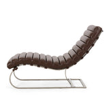 Modern Channel Stitch Chaise Lounge - NH621313