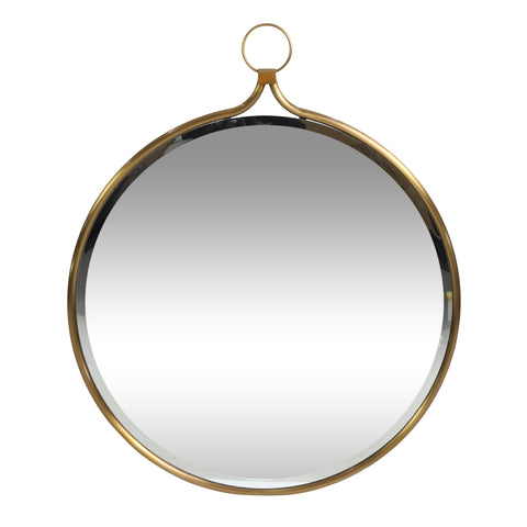Contemporary Round Wall Mirror - NH355313