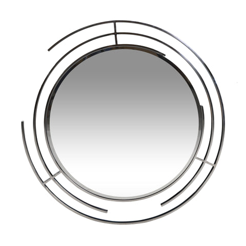 Modern Circular Wall Mirror - NH594313
