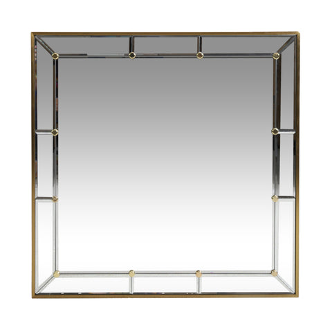 Contemporary Square Wall Mirror - NH094313