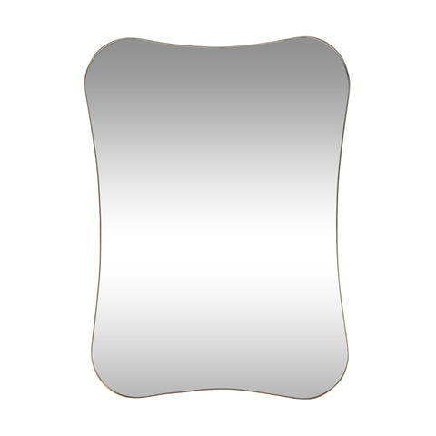 Contemporary Rounded Rectangular Wall Mirror - NH894313