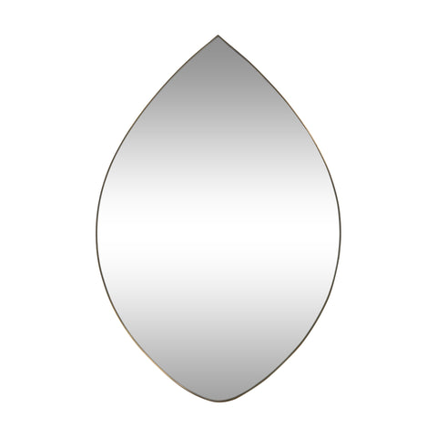 Contemporary Teardrop Wall Mirror - NH494313