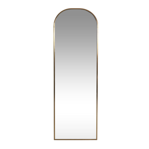 Contemporary Rounded Rectangular Leaner Mirror - NH694313