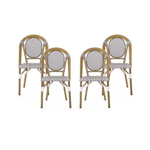 Outdoor French Bistro Chairs (Set of 4) - NH842313