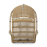 Outdoor/Indoor Wicker Hanging Chair with 8 Foot Chain (NO STAND) - NH553313