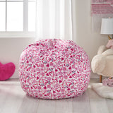 Modern 3 Foot Fabric Bean Bag - NH490313