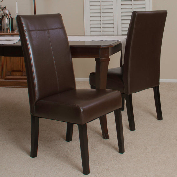 T-Stitch Upholstered Dining Chairs (Set of 2) - NH741712