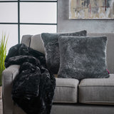 Faux Fur Pillows and Throw Blanket Combo (Set of 3) - NH821303