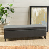 Rectangle Fabric Storage Ottoman Bench - NH506003